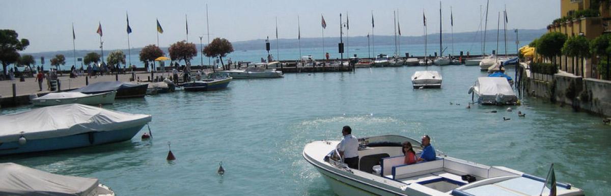 Boat Service Camping Riviera Garda Lake Toscolano Maderno
