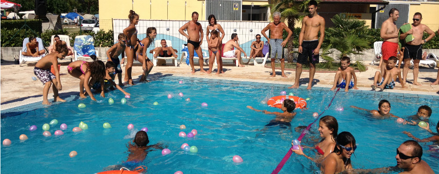 Entertainment Camping Riviera at Toscolano Maderno