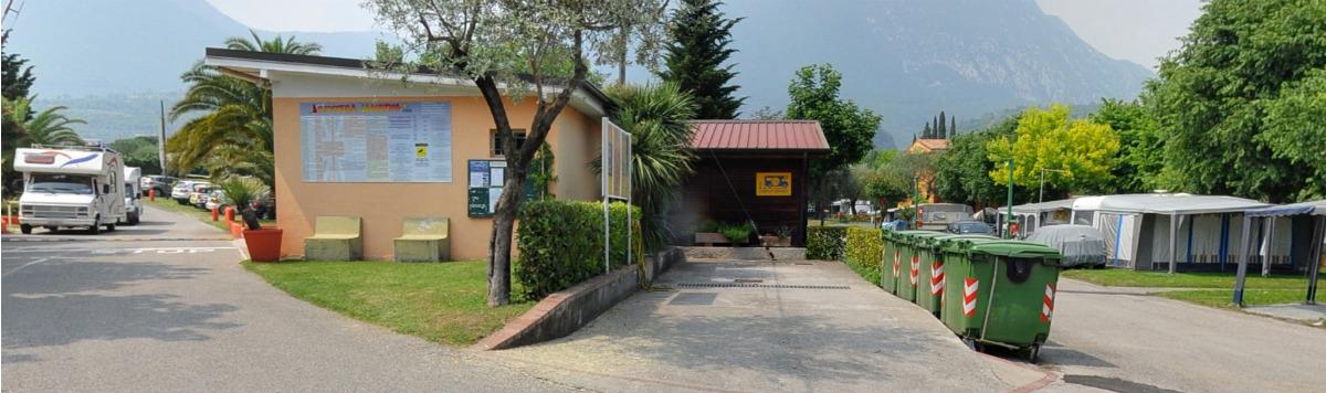 camper service offreto dal campeggio riviera